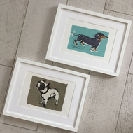 Cara Gordon - Screen Printed Dogs